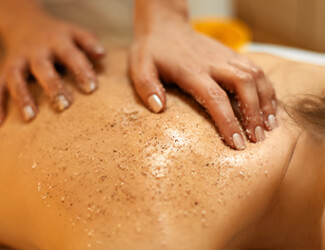 Exfoliation body treatment