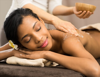 Relaxing exfoliation treatment