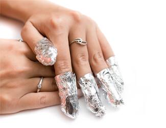 Gel nail removal soaking nails off