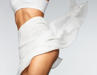 High bikini wax treatment