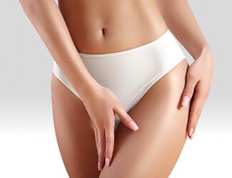 Hot Wax bikini treatment