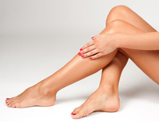 Waxing treatments - smooth legs