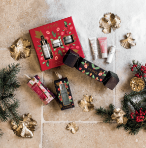 Caudalie Christmas gift set products